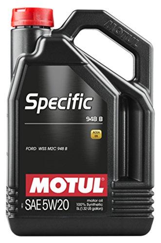 Aceite lubricante Motor 106352 - Motul Specific 948B 5w20, 5 Litros