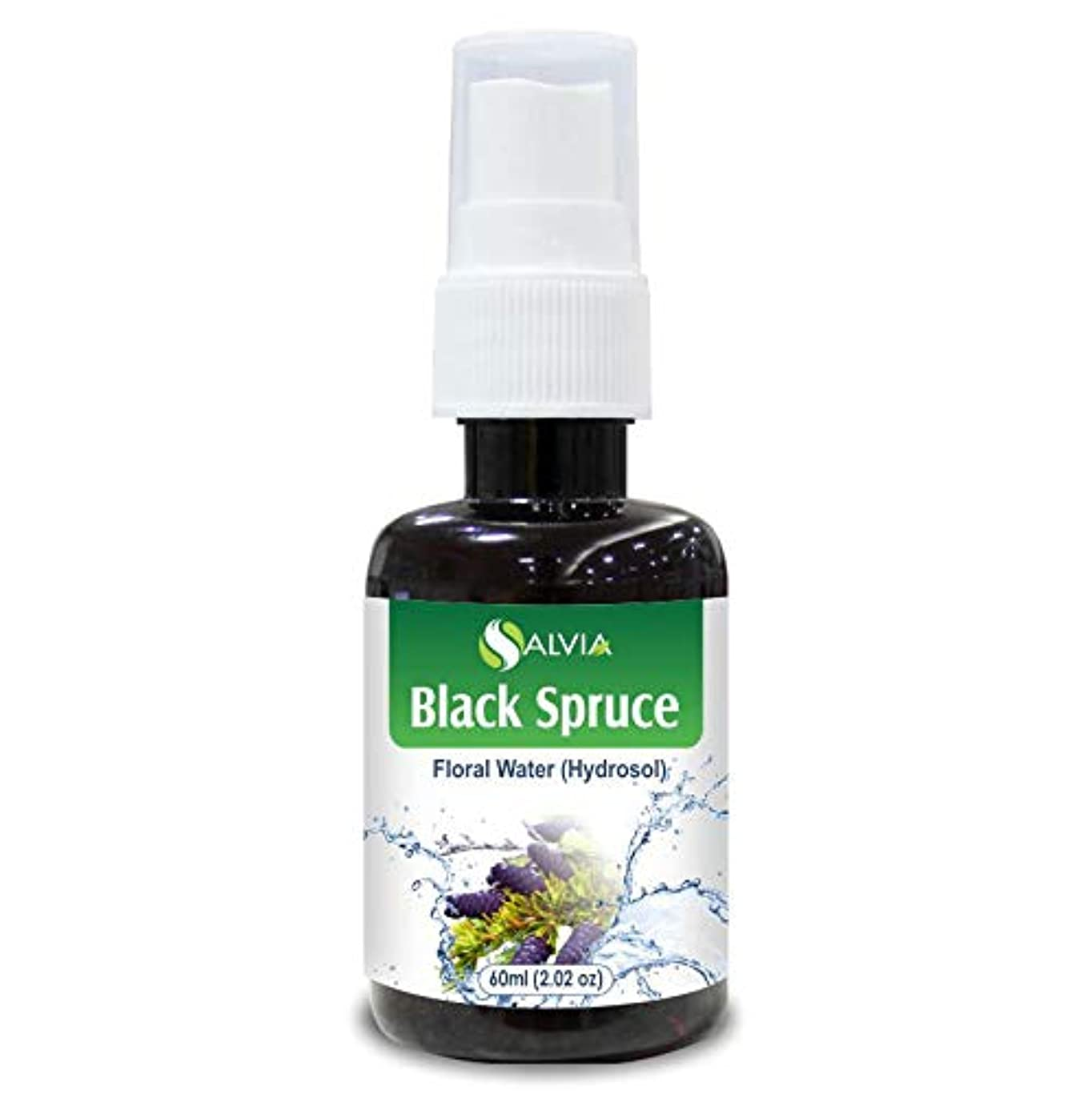 反毒理想的にはだますBlack Spruce Floral Water 60ml (Hydrosol) 100% Pure And Natural