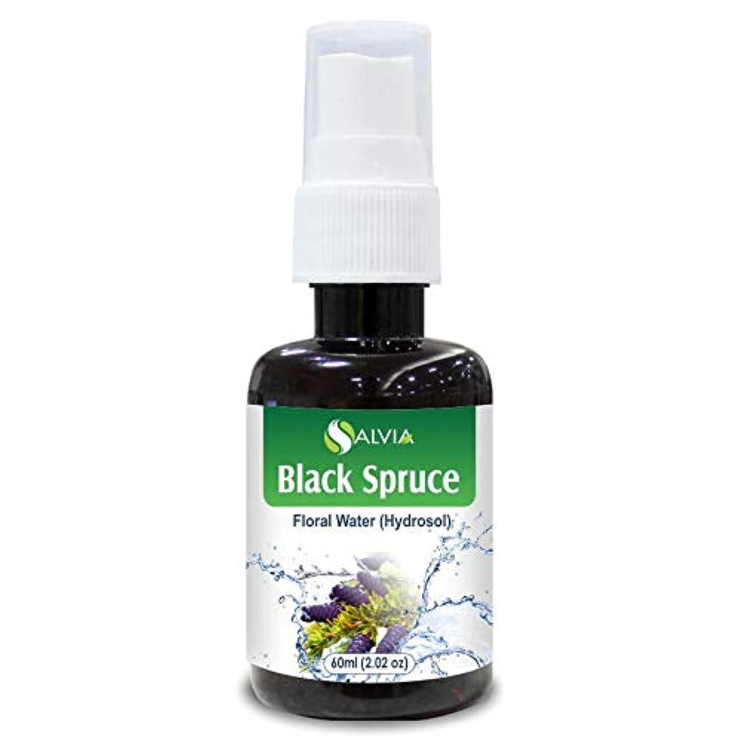 おなじみの放出化合物Black Spruce Floral Water 60ml (Hydrosol) 100% Pure And Natural