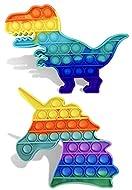 2-Pack Pop Up Bubble Fidget Toy, Fidget Toys for Kids Adults, Bubble Popper Fidget Toy Stress Anxiet...