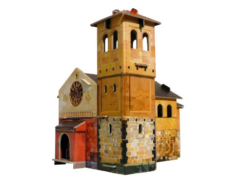 CLEVER PAPER- Puzzles 3D Iglesia (14218)