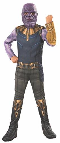 Avengers - Disfraz Thanos para niño, 5-7 años (Rubie'S 641055-M)