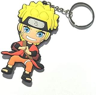 CellDesigns Japanese and US Anime Character Souvenir Collection (Young Naruto Uzumaki III-Keychain)