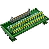CZH-LABS - Módulo de interfaz de placa de ruptura para conector macho DIN de montaje en r...