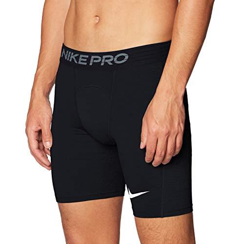 NIKE M NP Short Sport Shorts, Hombre, Black/White, M
