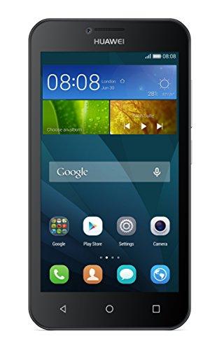 Huawei Y5 Smartphone (4,5 Zoll (11,43 cm) Touch-Bildschirm, 8 GB interner Speicher, Android 5.1) schwarz