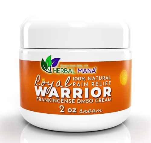 Royal Warrior – Frankincense DMSO Cream