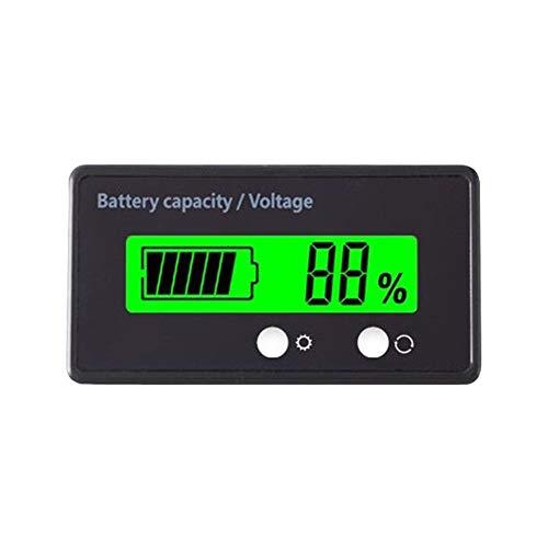 Anzeige der Akkukapazität Blei-Säure-Batterie-Statusanzeige Lithium-Batterie-Kapazität Tester 72V Spannung Meter-Messgerät-Status Batterie-Monitor für Auto-Träger-Handwerkzeug