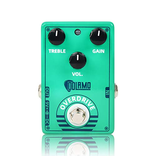 Green Vintage Overdrive Guitar Effects Pedal Sound Processor Portable Accessory for Electric Guitar Effect, True Bypass. Buy it now for 25.99