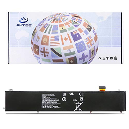 ANTIEE 80Wh RC30-0248 Laptop Akku für Razer Blade 15 Advanced 2018 2019 (i7-8750H) GTX 1060 1070 RTX 2060 2070 2080 i7-9750H RZ09-02385 RZ09-02386 RZ09-0301 RZ09-0288 02886 RZ09-03135 4icp4/55/162