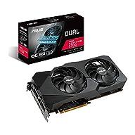 ASUS AMD Radeon RX 5700 Overclocked 8G GDDR6 Dual Fan EVO Edition HDMI DisplayPort Gaming Graphics Card (DUAL-RX5700-O8G…