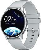 YAMAY Smartwatch, Reloj Inteligente Mujer Estilo de la Esfera es Variado para Elegir, Pulsera Actividad Inteligente para Deporte con Monitor de Sueño Contador de Caloría Podómetro Cronómetros