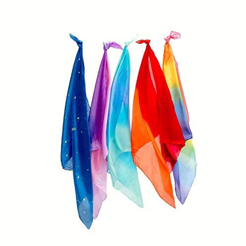 Sarah's Silks Set of 5 Enchanted Playsilks