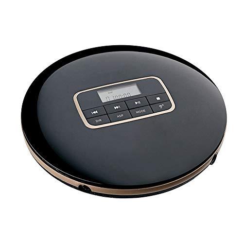 Draagbare Walkman CD speler met hoofdtelefoon, LCD-display, mini-CD-speler, ondersteuning voor batterijen, AUX-output voor CD / MP3 / WMA-afspelen