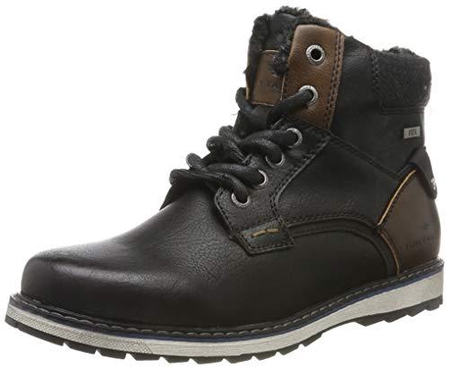 TOM TAILOR Herren 7971202 Klassische Stiefel, Schwarz (Black 00001), 39 EU