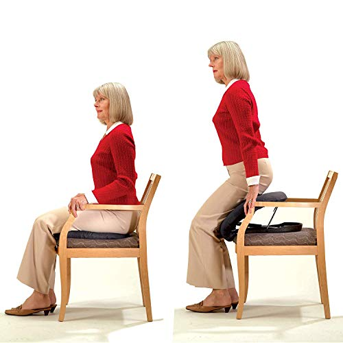 Carex Upeasy Seat Assist Plus - Chair Lift And Sofa Stand Assist - Portable Lifting Seat With Support Up to 340 Pounds, Provides 70% Assistance