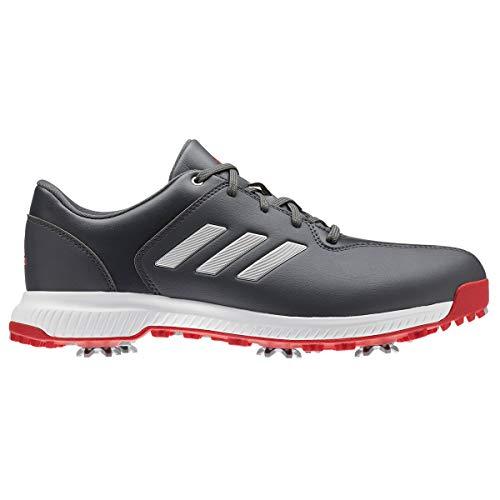 adidas Herren Cp Traxion Golfschuhe, Grau (Gris/Blanco/Rojo Bb7905), 47 1/3 EU