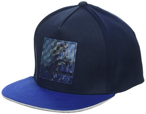 maximo Jungen Basecap Skater Kappe, Blau (Navy/Bluette 4854), 55