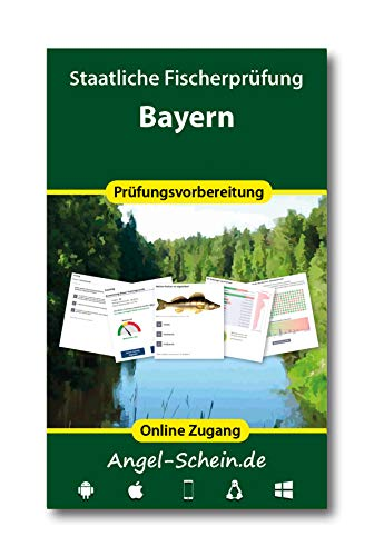 Online Trainer für die staatliche Fischerprüfung Bayern 2020 (Zugangscode)