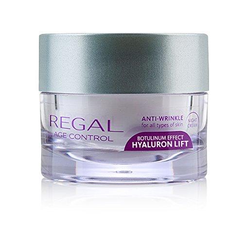 Regal Age Control Anti-Falten Nachtcreme Botox Effect Hyaluron Lift mit ARGIRELINE