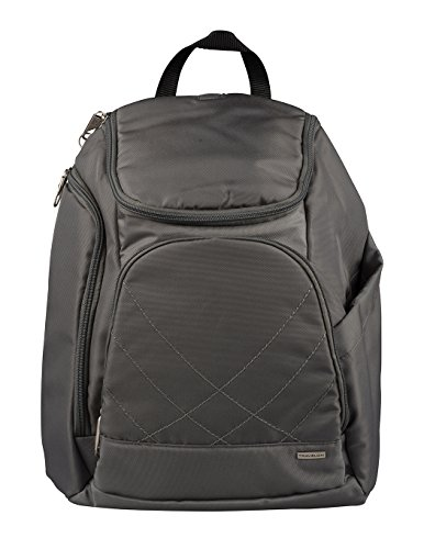 Travelon Anti Theft Classic Backpack, Pewter