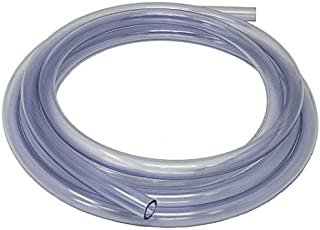 0.07 Plastic Flexible Water Pipe 2mm ID x 4mm sourcing map PVC Hose Tube 0.15 OD 3 M Clear Vinyl Tubing