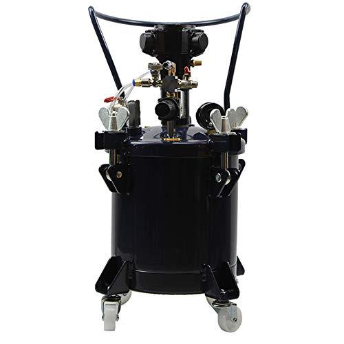 NEWTRY - Tanque de pintura a presión para tanque de pintura a presión, barril automático, agitador de aire, pulverizador, bote a presión, tanque para solución de pintura y transporte (automáti