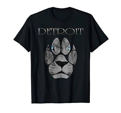 Detroit Football fans tshirt 313 (Lions) 2018 T-Shirt