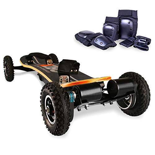 AZBO Off Road Electric Skateboard with Remote Control - 3300W Dual Motor - UL2272 Certified High...