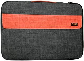 "ProHT 15.6"" Bubble Laptop Sleeve Black/Orange (02444)"