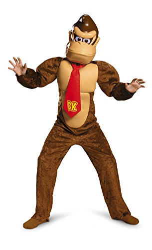 Nintendo Donkey Kong Costume for Kids, Ages 4 to 12