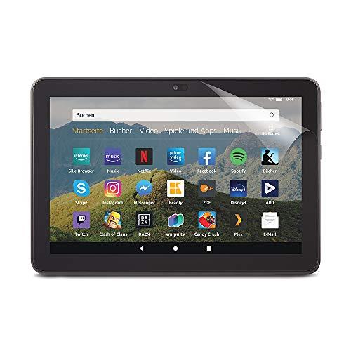 Produktbild von Nupro Displayschutzfolie für Amazon Fire HD 8-Tablet (10. Generation – 2020), Transparent (Doppelpack)