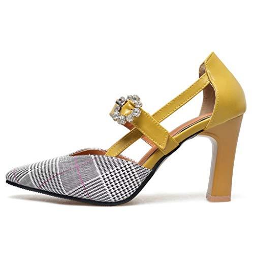 Flower Sandalen grote grootte wijnglas met hoge hak holle dames puntige schoenen