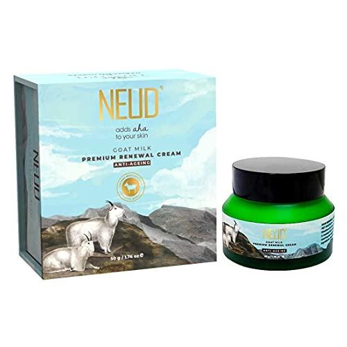 NEUD Goat Milk Premium Renewal Cream for Men & Women - 50 g