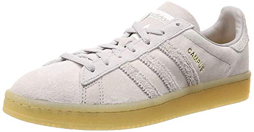 adidas Campus W, Zapatillas de Gimnasia Mujer, Gris (Grey Two F17/Grey One F17/Gum4), 37 1/3 EU