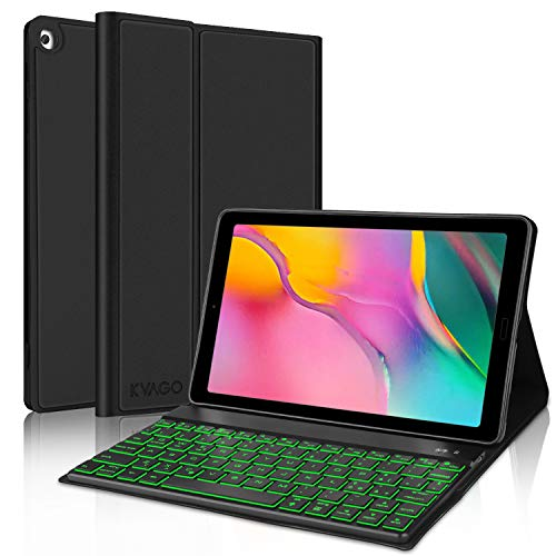 tastiera tablet samsung KVAGO Custodia con Tastiera Italiano per Samsung Galaxy Tab A 10.1 2019 (SM-T510 SM-T515)