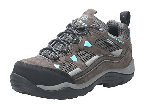 QOMOLANGMA Women's Waterproof Wide Hiking Shoes Anti-Skid Walking Sneaker for Running Trekking...