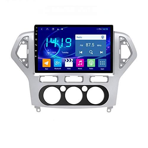 Estéreo Para Automóvil Radio De Navegación Por Satélite FM AM Pantalla Táctil Navegador GPS Soporte Control Del Volante Bluetooth Reproductor WIFI Soporte GPS USB SD Adecuado Para F(Color:WIFI 4G+64G)