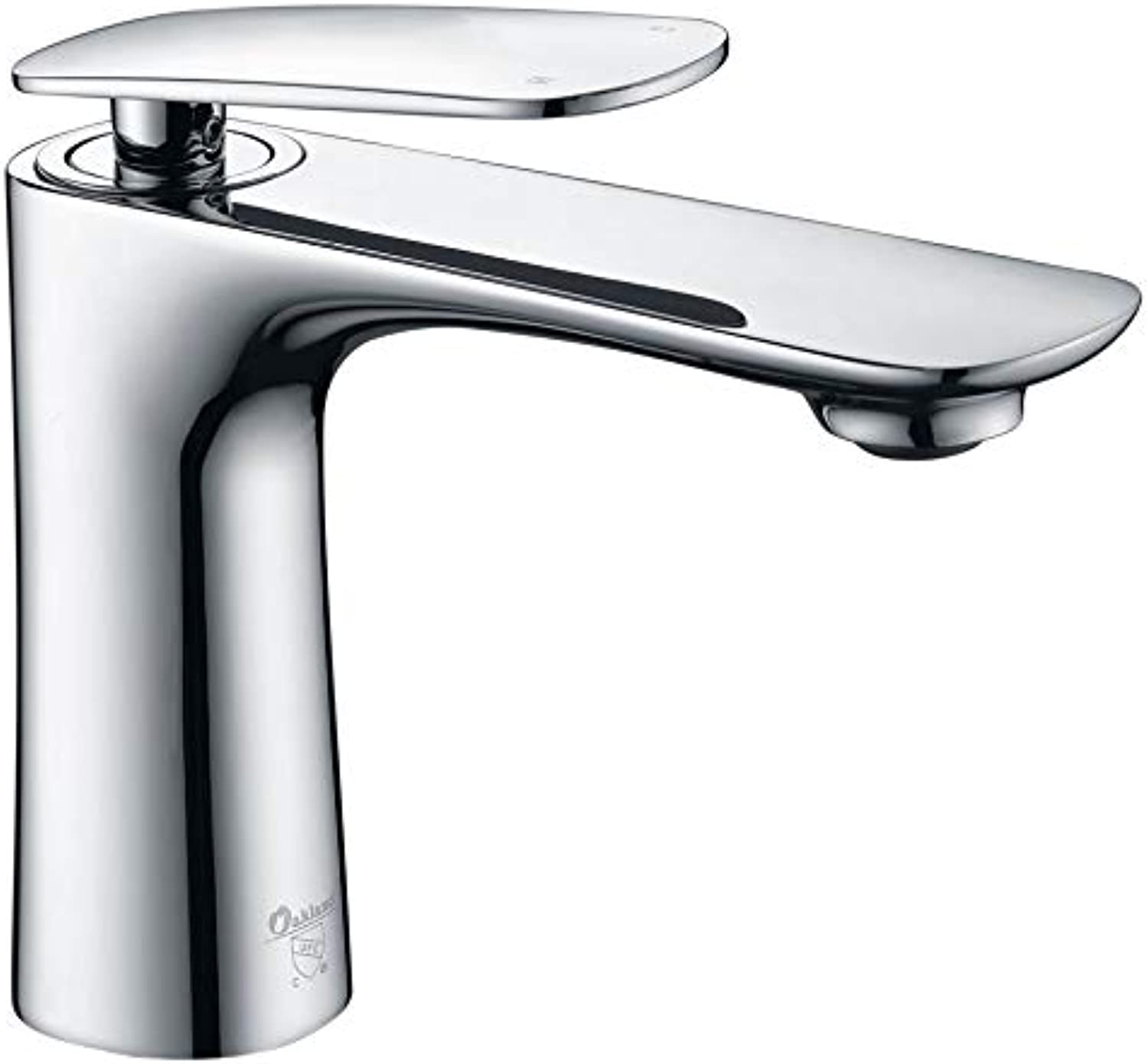 Rfsbqlcs Bathroom sink faucet - Modern faucet - kitchen bathroom sink faucet, modern design hot and cold faucet with standard accessories (without base)