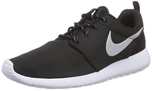 Nike Rosche Run Damen Sneakers, Schwarz (Schwarz), 38 EU