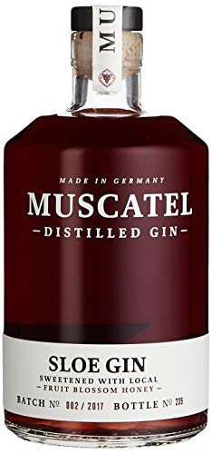 A WITCH A DRAGON & ME - MUSCATEL SLOE GIN (1 x 0.5 l)
