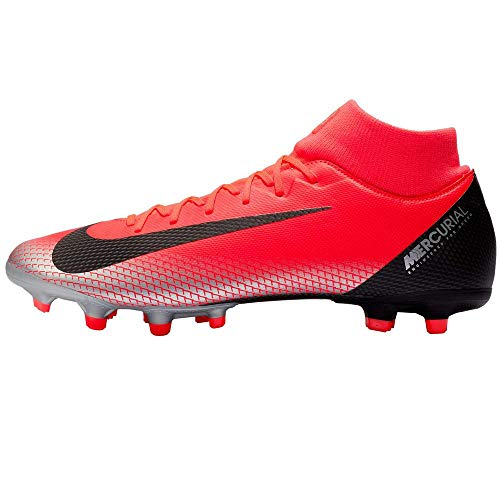 Nike Superfly 6 Academy CR7 MG, Scarpe da Calcio Uomo, Rosso Bright Crimson Black Chrome da 600, 43 EU