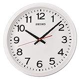 Seiko Reloj de Pared (plástico, tamaño único), Color Blanco