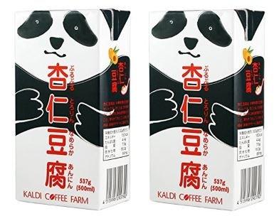 【2個セット】カルディオリジナル パンダ杏仁豆腐 537g 【季節限定販売】