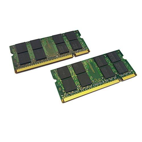 dekoelektropunktde 4GB Kit Dual Channel (2X 2GB) Ram Memoria DDR2 para Samsung R20F, R55, R60, R60 Plus