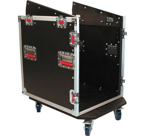 GATOR Wooden G-Tower Cases für 12U Mixer mit integriertem 12U Rack
