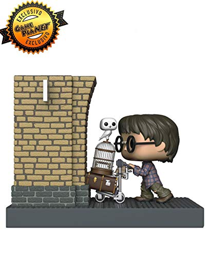 Funko POP! Movie Moments Harry Potter: Harry Potter entrando en la plataforma 93/4