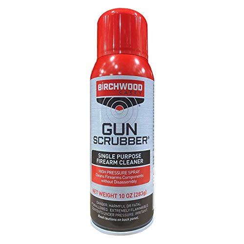 Birchwood Casey Gun Scrubber Single Purpose Gun Cleaner, Aerosol Spray, 10 Oz (Packaging May Vary)