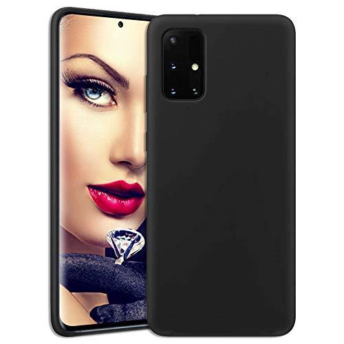 mtb more energy® Soft Silikon Hülle für Samsung Galaxy A32 5G (SM-A326, 6.5'') - schwarz - Ultra Silk Touch - Liquid Silicone Hülle Handyhülle Cover Tasche