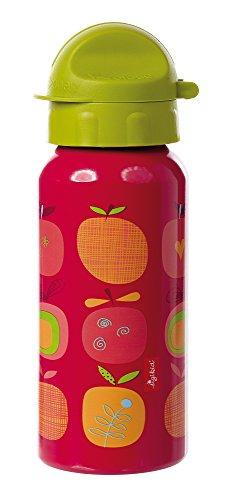 sigikid, 24739 enfant fille, gourde 0,4 litres, rouge/vert, 'Pony Sue'